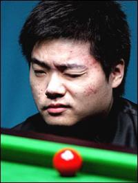 Дин Цзюньху - победа и полуфинал