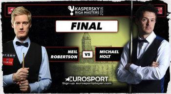Нил Робертсон выиграл Riga Masters 2016