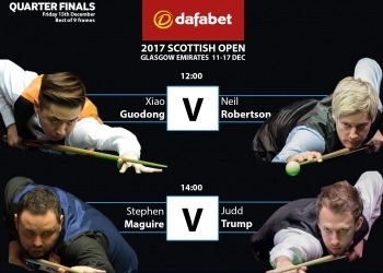 Чемпионат Шотландии по снукеру 2017. Четвертьфинал