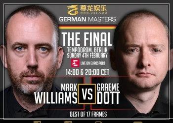 Снукер: German Masters — 2018. 1/2 финала