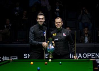 China Open 2018. Финал: Марк Селби - Барри Хоукинс