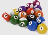 бильярдные шары для пула
