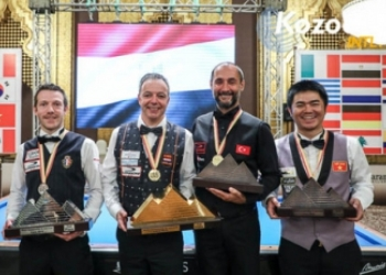 чемпионат мира по трехбортному карамболю 2018