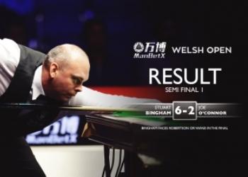 Welsh Open 2019. Полуфиналы