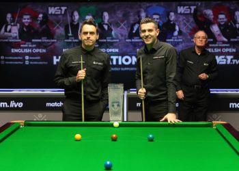 Марк Селби победил Ронни О'Салливана в прошлогоднем финале Scottish Open 2020
